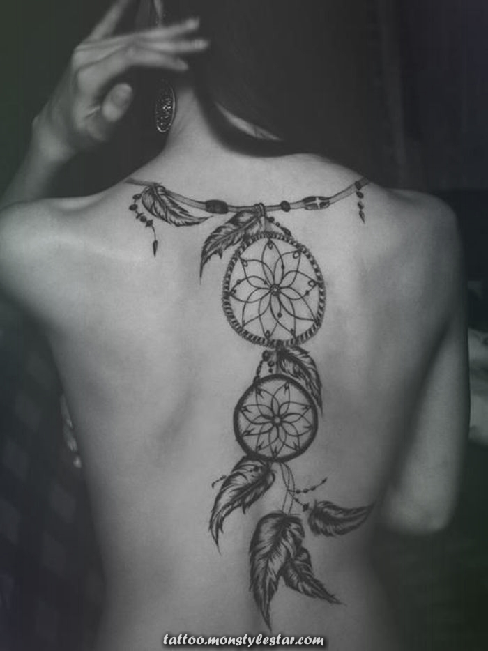 ▷ 1001+ Fascinating Ideas for Female Back Tattoos - R V