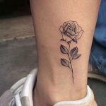 ▷ 1001 + Ideas and inspirational photos about roses tattoos - Annka