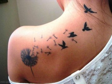 ▷ 1001 Inspirations for a great tattoo of dandelion - Julia Lieberum