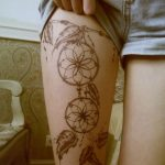 ▷ More than 1001 ideas for leg tattoos for all tastes and ages: Sophie Hoffma ...