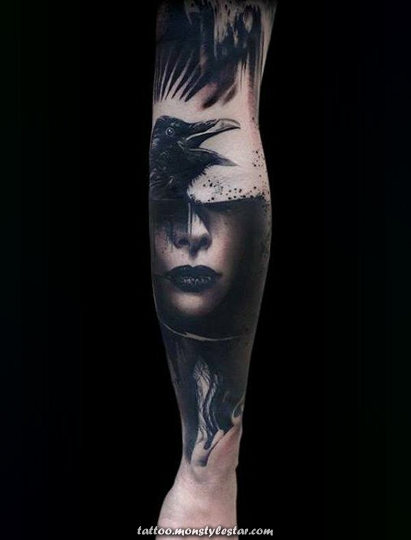 ▷ More than 1001 ideas templates for forearm and upper arm tattoo - Iggy Pi