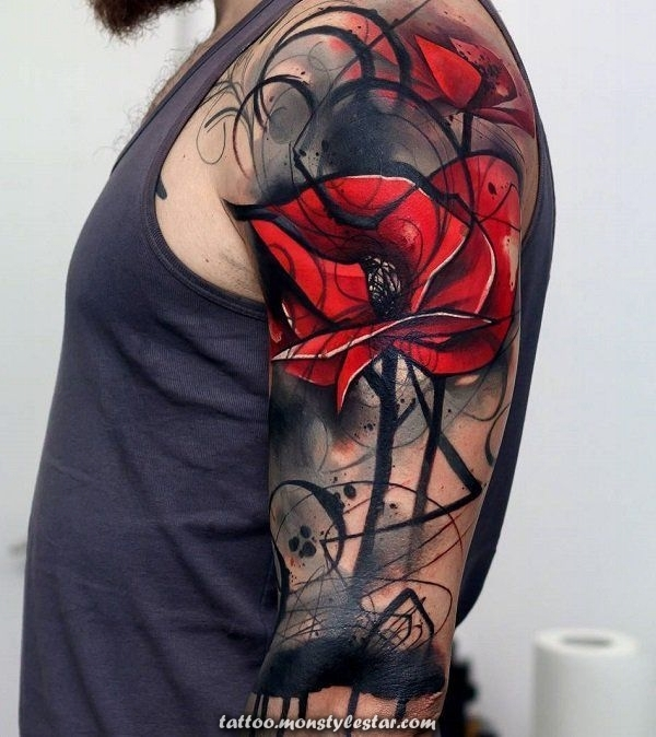 More than 101 tattoos with distinctive sleeves for men and women. [2018] - Leviathan