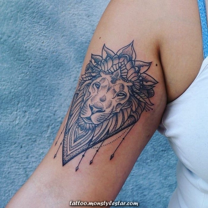 ▷ 1001+ fresh ideas of lion tattoos to inspire you - Sophie Hoffmann