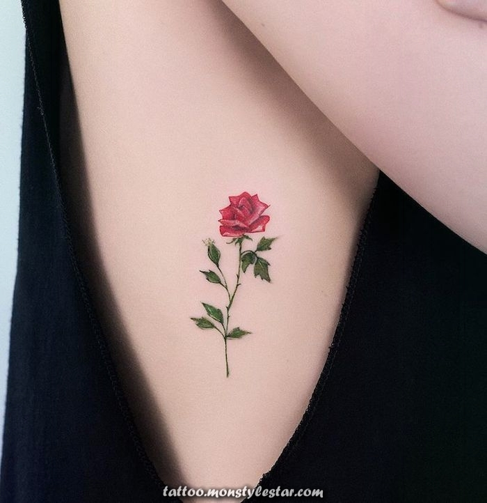 ▷ 1001 Tattoo ideas with flowers and information about their meaning - Josephine