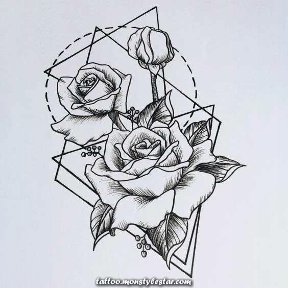 50 designs of intense geometric tattoos and ideas for men and women #des ...