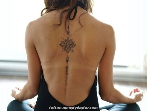 More than 1001 fascinating ideas for female back tattoos - Wiebke Schmitz