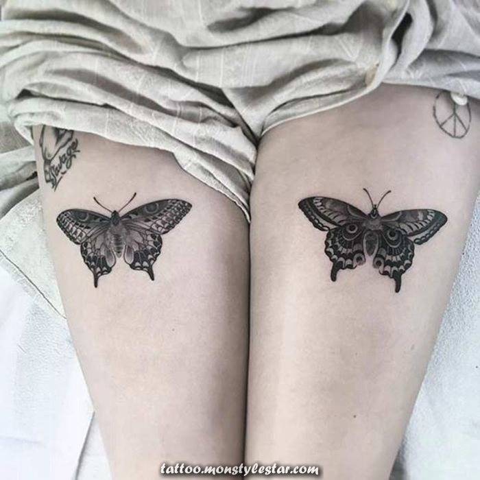 ▷ 1001+ Ideas for leg tattoos for every taste and age - V B