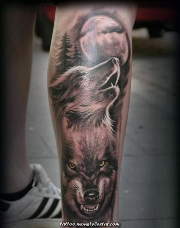 wolf tattoos tattoos tattoos tattoos women tattoos men tattoos ideas - Lea Bruns tattoo