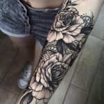 ▷ 1001+ Ideas and inspirations for a great tattoo on the forearm - Sophie Hoff ...