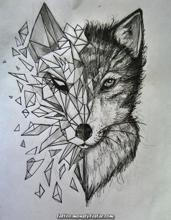wolf tattoos tattoos tattoos tattoos women tattoos men tattoos ideas - Maria Baptist