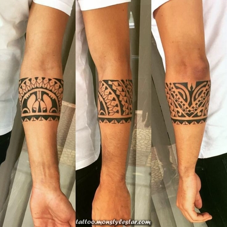 Tattoo bracelet - Large and original designs for men and women in photos ...