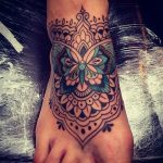 147-foot tattoo designs that help you leave a steeper footprint ...