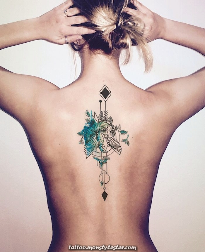 ▷ 1001 + ideas and images about the watercolor tattoo and its meaning - Dani ...