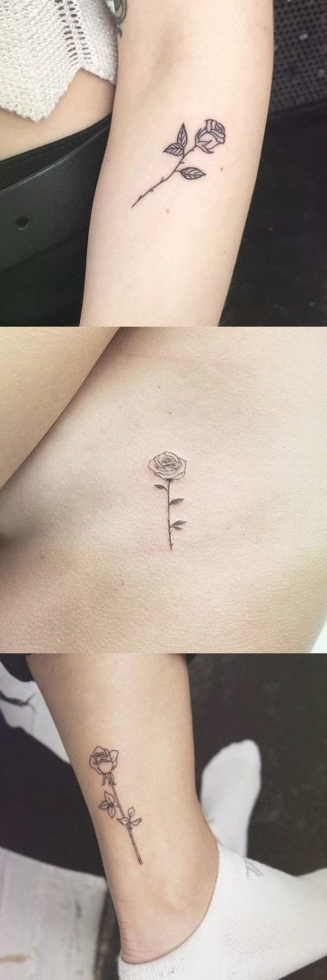 More than 30 simple and small ideas of flower tattoos for women - Elizabeth Soto