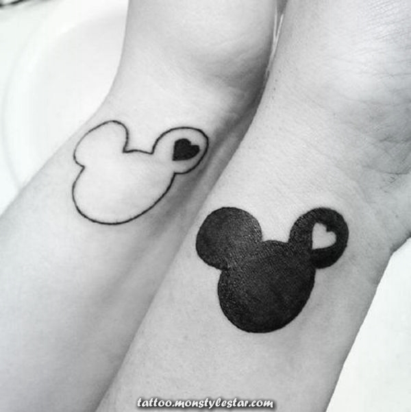 Decent tattoo ideas for micky mouse design brides - Lisa Basler