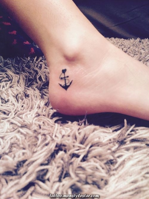 Friends Tattoos - #anchor #ankle #tattoo #girly #tattoos - Heather McIntosh