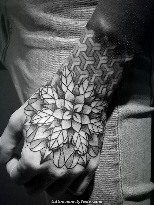 Hand tattoos for men - Nicolaus Seegel