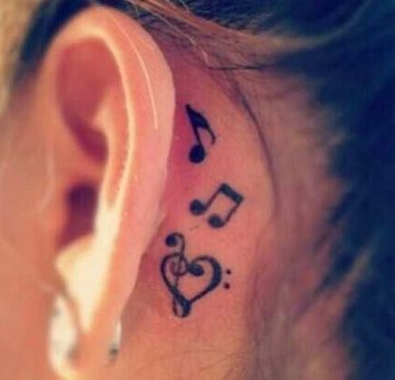 Here is something behind your ears - Kathrin