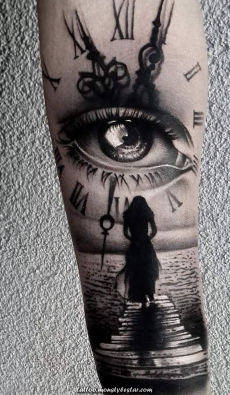 Image result for small eyes tattoos - Carmen Peter