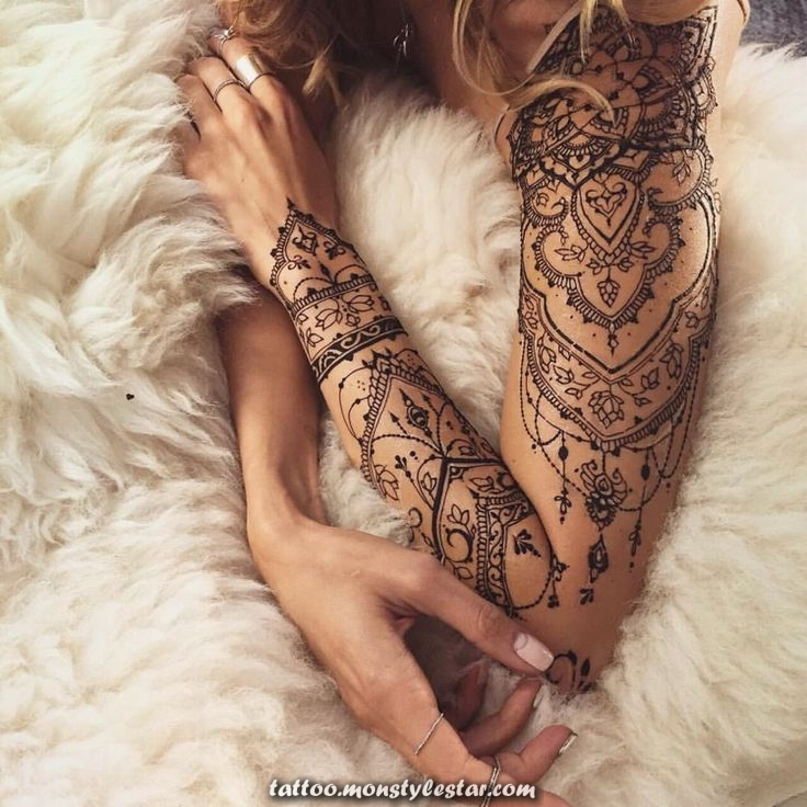 Make yourself a henna tattoo - Tips to apply and 35 great designs - Hatice à ...