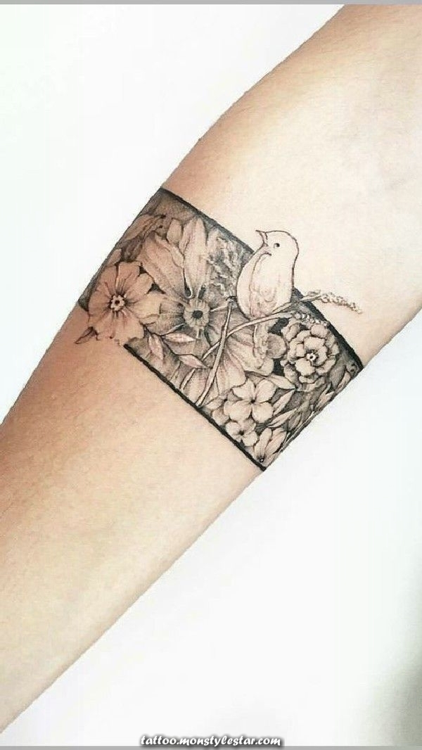 More than 40 designs of tattoos for bracelets - pinmodealle