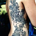Paisley tattoo designs for women - Agné Werner