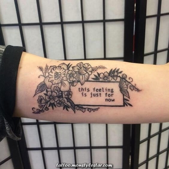 50 Quotes of Tattoos for Women - TattooEasily.com