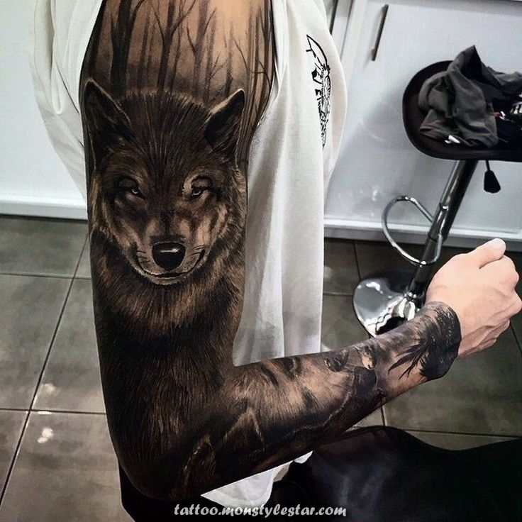 Tattoo Wolf tattoo motives tattoos women tattoos men tattoo ideas tatoo tattoo small