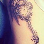 Tattoo key with dial (Cool Art Tattoo) - Martina Schlebusch