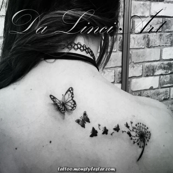 50 dandelion tattoos for women - Petra Adler