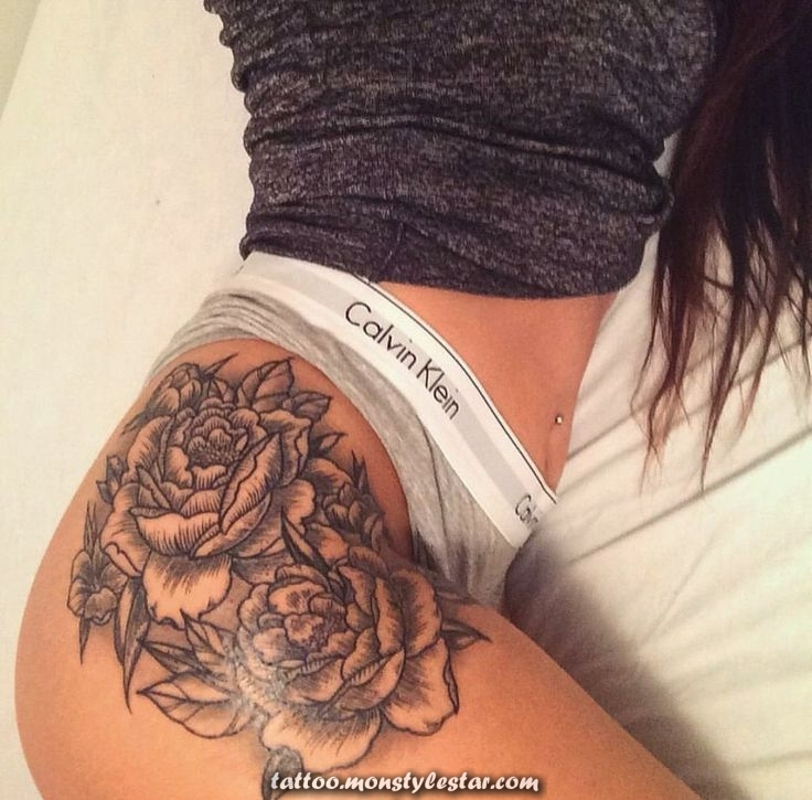looking for the PERFECT tattoo of hip / thigh ... Take a look at more ...