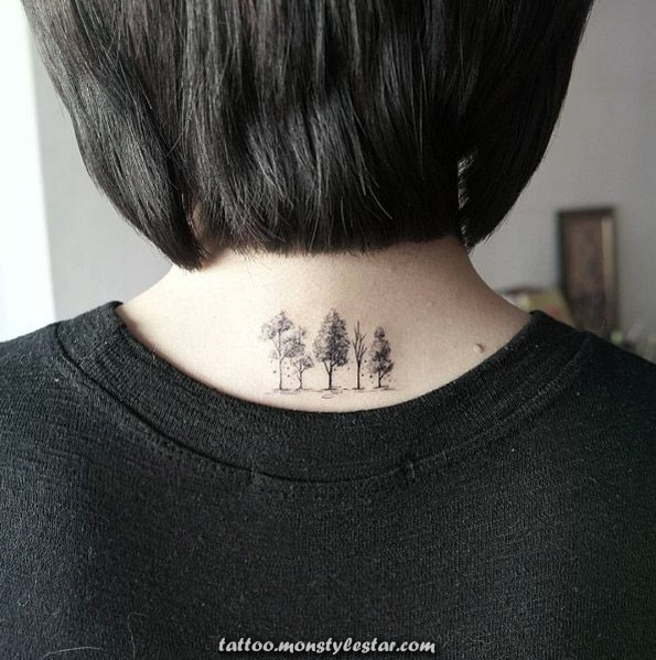 40 perfectly placed tattoos that all women will adore: new hairstyles ...