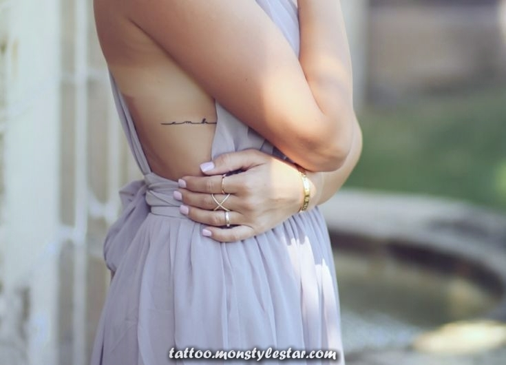40 subtle tattoo ideas for women in various parts of the body - Heidi sedlmair