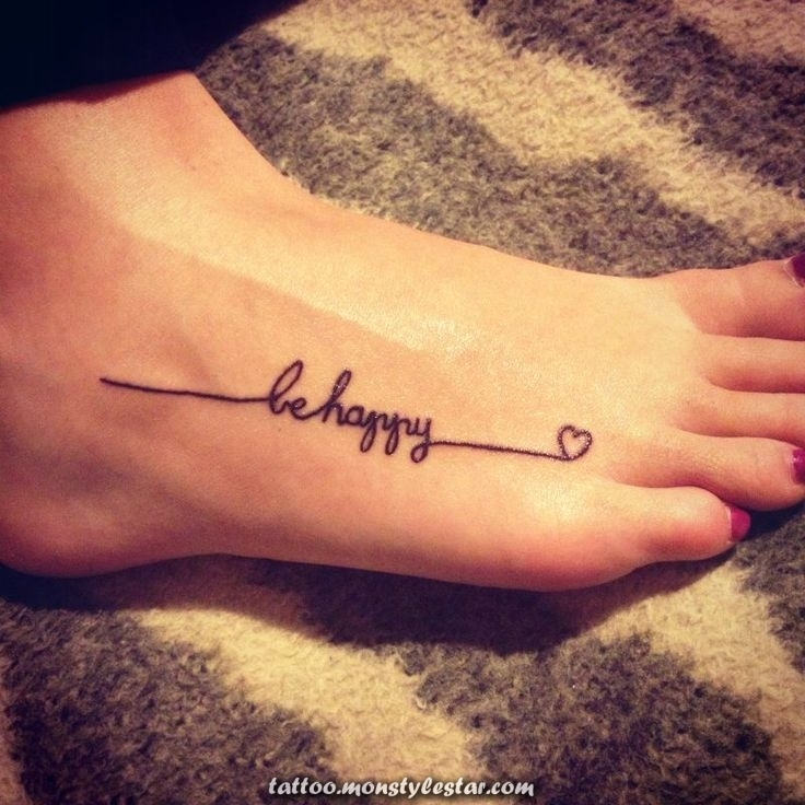 write ideas for tattoos foot ideas for great tattoos - Anke Manteufel