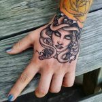 My new Chelsea medusa tattoo fades in black tattoos (for ...