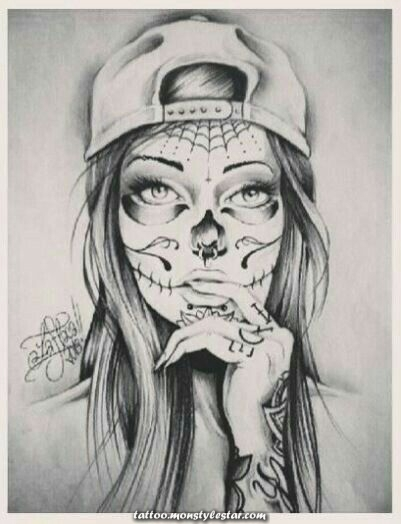 Result image for tattoo template of the catrina - #image #catrina #forlegs #f ...